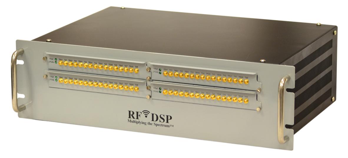 64×8 AND 64×16 MASSIVE MIMO RF CHANNEL EMULATORS - RF DSP